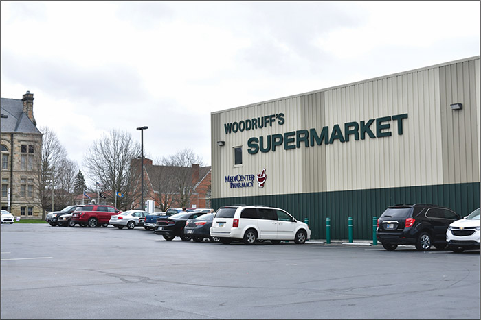 Woodruff's Supermarket, 10 South Main Street, opened at its present location in 2003.  (Vivian Risch photo)